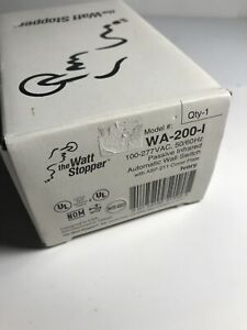 New Watt Stopper Wa 200 i Passive Infrared Automatic Wall Switch 100 277vac