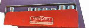 Proto Usa Professional 12pt 3 8 Drive 7pc Deep Socket Set