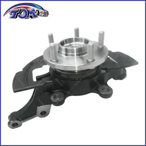 Complete Wheel Hub Bearing Steering Knuckle Assembly Left For Nissan Altima 2 5l