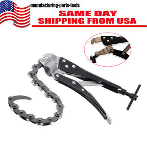 Car Exhaust Pipe Cutter Exhaust Tube Multi Wheel Blade Tail Pipe Cutter Chain