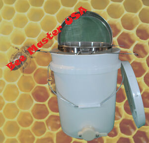 Pros Choice Best Honey Bottling Pail With Honey Gate lid double Sieve Strainer