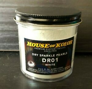 House Of Kolor Dry Pearl Dr01 C01 White Pearl 2 Oz