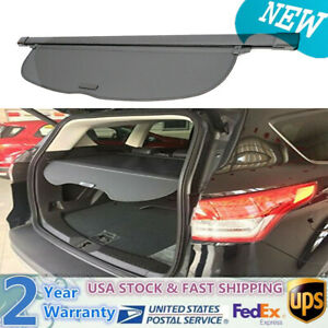 For 2017 19 Honda Cr V Crv Oe Style Retractable Cargo Cover Luggage Shade Black