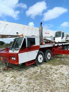 1989 Link belt 70 Ton Htc 1170 Hydraulic Truck Crane 120ft Main Boom Excellent