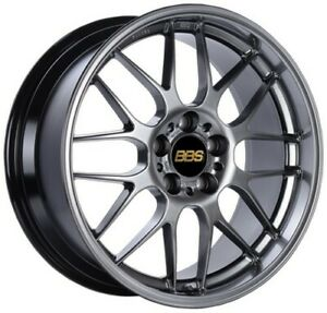 Bbs Wheels Rim Rgr 18x8 5 5x120 Et13 Pfs Diamond Black