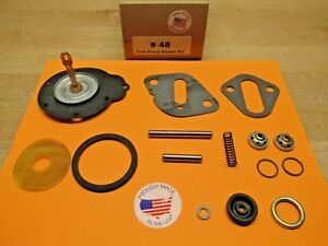1939 To 1953 Plymouth 6 Cylinder Single Action Fuel Pump Kit For Modern Fuels