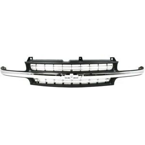 For Chevy Silverado 1500 2500 Grille Assembly 1999 2002 Plastic Gm1200424