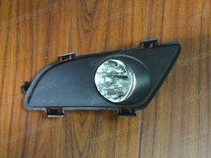 Driving Fog Light Lamp W Bezel Clear Lh Driver Side For Mazda 6 2003 2005