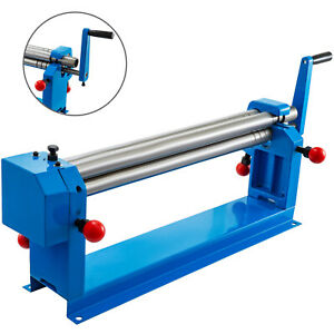 Slip Roll 22 X 18 Gauge Sheet Metal Roller 570mm Slip Rolling Bending Machine