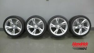 2020 Chevrolet Camaro Ss Oem Take Off Wheels And Goodyear Eagle F1 Tires Set
