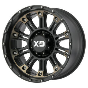 17 Xd Series Hoss Ii Black xd82979050912n Set Of 4 Wheels Rims