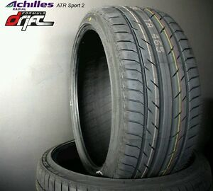 2 New 255 30 21 Achilles Atr Sport 2 255 30zr21 Achilles 255 30 21 Set Of 2