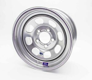 Bart Wheels Imca Competition 15x8 In 3in Bs 5x4 75 Steel Silver