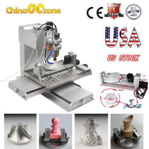5axis 6040 Cnc Router 3d Engraver 2200wusb Engraving Drilling Milling Machine Us