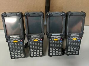 Lot Of 4x Symbol Motorola Mc9090 Barcode Mobile Scanner Mc9090 gk0hjefa6wr