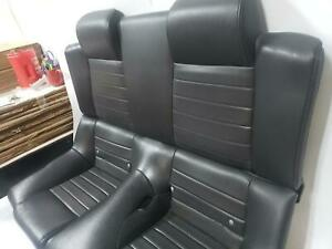 2008 Mustang Gt Convertible Rear Leather Seat Assembly Trim Code Kw