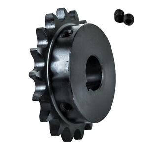 50b18t 1 Bore 18 Tooth B Type Sprocket For 50 Roller Chain