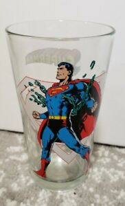 Superman Glass! (16oz.) Toon Tumbler! Classic! Pre-owned!