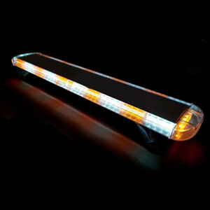 48 88 Led Emergency Strobe Light Bar Amber White Warning Tow Truck Response