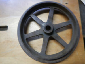 Vintage Logan Metal Lathe Outboard Countershaft Pulley