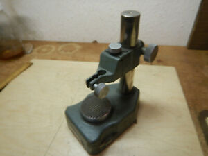 Mitutoyo Dial Indicator Checker Checking Stand With Anvil Machinist Tool