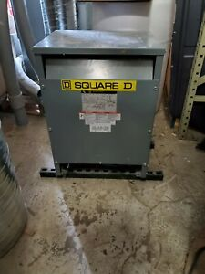 Square D Transformer 3 Phase Kva 30 Used