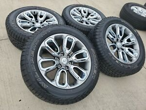 20 Dodge Ram 1500 Oem Stock Wheels Rims Tires A T 2677 Limited 2019 2020 2021