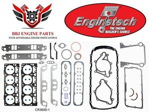 Enginetech Chrysler Dodge Mopar 5 9l 360 Magnum Overhaul Gasket Set 1993 2003