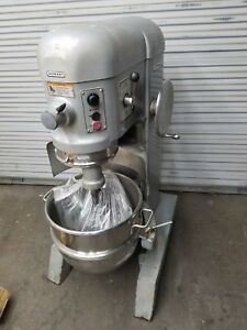 Hobart H600 t 60 Qt Three Phase Mixer 230 Volts With Bowl Guard