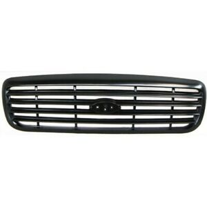 For Ford Crown Victoria Grille 1999 2000 Painted Black Shell And Insert Plastic