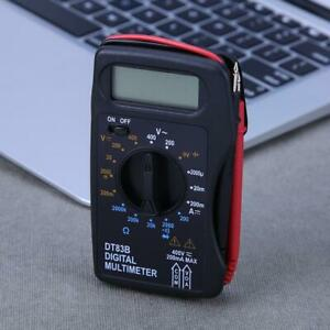 Multifunction Mini Digital Multimeter Mini Pocket Ammeter Voltmeter Ohm Meter