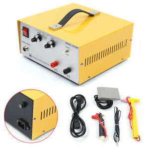 80a Jewelry Welding Machine Electric Laser Spot Welder Gold Silver Soldering New