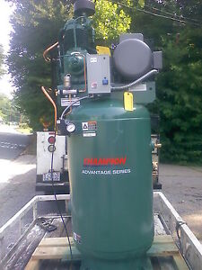 New 7 5 Hp Champion Advantage Series Industrial Duty Air Compressor