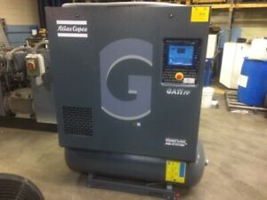 15hp Ga11ff Atlas Copco Rotary Screw Air Compressor