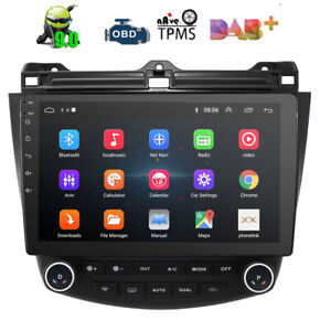 10 1 Android 9 1 Car Stereo Radio Gps Nav For Honda Accord 2003 2004 2005 2007