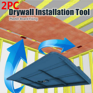 2pcs Drywall Installation Tool Supports The Board In Place While Installing