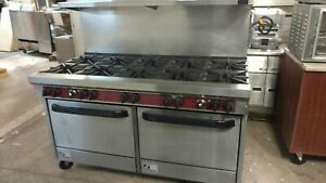 Southbend 10 Burner Range With Dual Convection Ovens