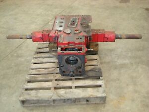 1961 Farmall Ih 460 Gas Tractor Rearend Transmission Assembly