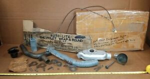 Nos Autolite 29 30 31 Chevy Or Plymouth Exhaust Manifold Heater Accessory Kit
