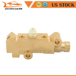 For Gm Disc Disc Brake Brass Proportioning Valve Pv4 Universal