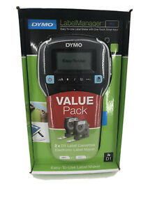 Dymo Labelmanager 160 Handheld Label Maker With 2 Rolls Of D1 Labeling Tape