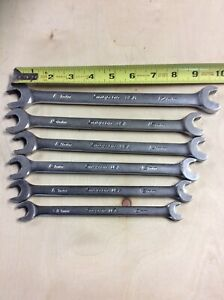 Snap On Srsm Combination Speed Wrenches Metric 10 12 13 14 15 And 17 Mm Used