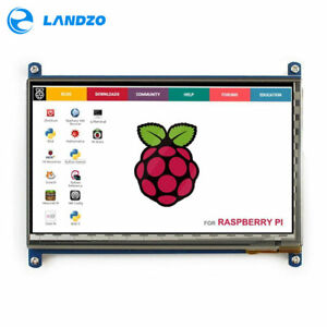 Landzo 7 Hdmi 1024 600 800x480 Lcd With Touch Screen Supports Raspberry Pi