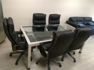 Conference Table And 5 Chairs
