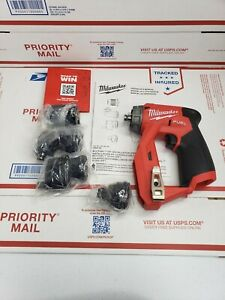 New Milwaukee 2505 20 M12 Fuel Installation Drill driver 4 in 1 tool Only
