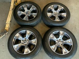 2020 Dodge Ram 1500 Factory 20 Wheels Rims Tires 2674 Oem 5yd57trmaa 6 Lug