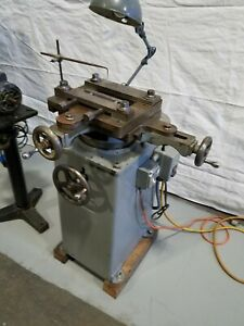 Thurston Model B3 Metal Router Machine Relieve Pocket Gusset Milling