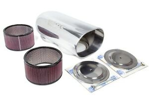 Blower Drive Service Dual Dominator Scoop W Filters Polished