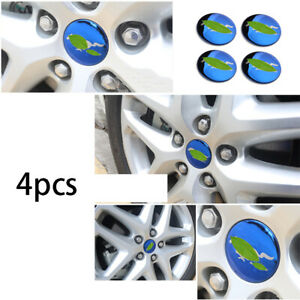 Steel Blue Wheel Hub Caps Sticker Center Cover For 2013 2020 Ford Mondeo fusion