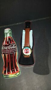 Always Coca Cola Watch With Tin 1997